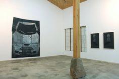 shape, rubbing solo exhibition