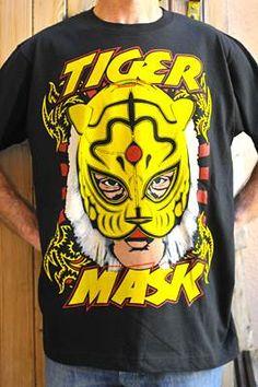 Lucha Libre T-shirt Tiger Mask #design #luchalibre #maskedwrestlers
