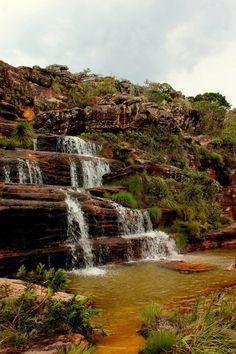 Cachoeira Sentinela, em Diamantina, MG.