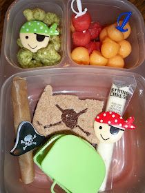 Lunches Fit For a Kid: Talk Like a Pirate Day Blog Hop - Lunches for The Boy and The Girl 9.19.12