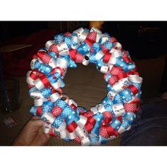 Dr Seuss ribbon wreath