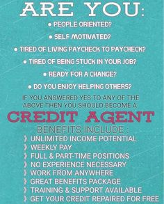 Image result for credit agents wanted Paying Off Credit Cards, Rewards Credit Cards, Fix Your Credit, Credit Score, Build Credit, Credit Dispute, Rebuilding Credit, Credit Repair Companies, Finance Jobs