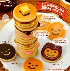 pancake stack game #kawaii