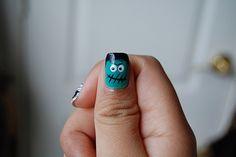 Frankenstein nails.