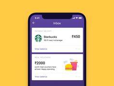 Pull To Refresh - iPhone X by Saptarshi Prakash - Dribbble Ux Design, Best Ui Design, Web Design Studio, Card Ui, Ui Design Inspiration, Creative Inspiration, Mobile Ui Design, Screen Design, Interaction Design