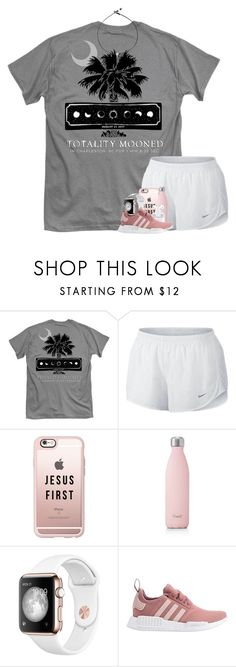 """""""taglist {rtd}"""" by worthyofgrace ❤ liked on Polyvore featuring NIKE, Casetify, S'well and adidas"""