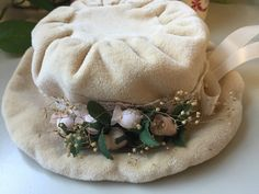 Vintage Baby/Toddler Victorian Style Hat by LosChapines on Etsy