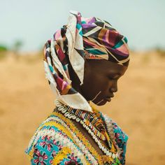 A young woman from the Fulani people of the Sahel