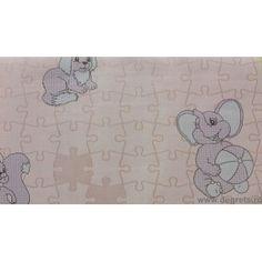 Tapet hârtie Puzzle roz