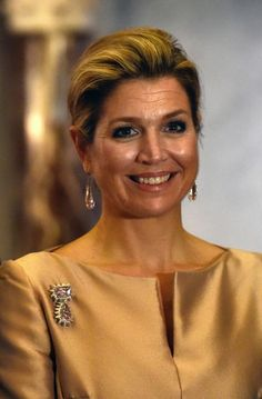 Queen Maxima attended Erasmusprize ceremony at the Royal Palace in Amsterdam