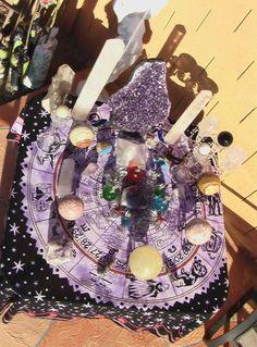 Altars:  Crystal #Altar.