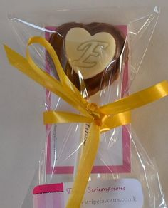 CandyStripe Wedding Favours supply lots of Chocolate and fudge treats. This Valentines day why not send a chocolate heart shaped lollipop to your...