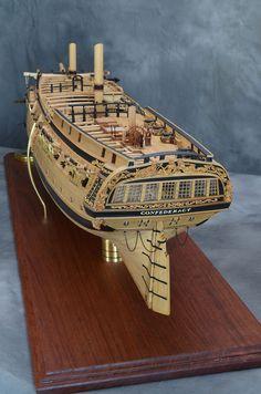 Henry Strub Ship Models | USS Confederacy