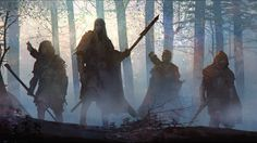 The basis of an adventure in Symbaroum, a Scene stands as a means to determine the 'value' of an adventure — or just a session as part of a campaign — in terms of Experience… Dark Fantasy, Fantasy Concept Art, Fantasy Character Design, Fantasy Rpg, Fantasy Artwork, Fantasy World, Character Inspiration, Character Art, Cyberpunk 2020