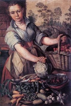 Joachim Beuckelaer    Love this! Lots of detail!  http://www.wga.hu/art/b/beuckela/v_seller.jpg