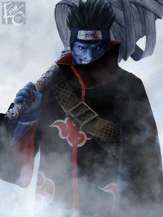 Kisame Hoshigaki o jinchuriky sem calda😮🌟👏👑 Naruto Shippuden Sasuke, Itachi Uchiha, Anime Naruto, Naruto Fan Art, Gaara, Manga Anime, Akatsuki, Amaterasu, Cosplay