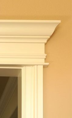 pediments over interior doors | Back to COLOR page
