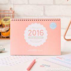 Calendario scrapbook 2016 - Haz que 2016 sea un año para recordar