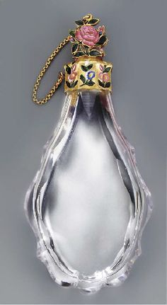 Louis XV scent bottle with the charge mark of Julien Berthe 1750-1756