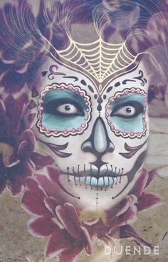 By Duende.  http://500px.com/Duenderfs  Sugar Skull | Day of the dead | Skeleton