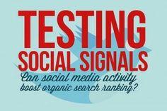 Έρευνα: Πόσο Μετρούν τα Social Signals στο SEO #seo #socialsignals #creativeshop