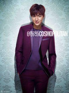Lee Min Ho Cosmopolitan China March 2014 Look 9 Boys Before Flowers, Boys Over Flowers, So Ji Sub, Hot Korean Guys, Korean Men, Korean Celebrities, Korean Actors, Korean Dramas, Mc Mong