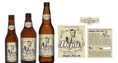 Projeto de rótulos - Cerveja Dejair