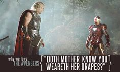 best avengers quote ever.