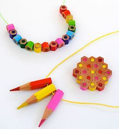 Maybe the points wouldn't be so great... but the little beads all the way around would make a unique bracelet.