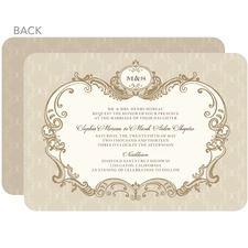 Lavishly Elegant Wedding Invitations