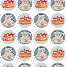 Featuring watercolours of cups of tea, cherry cakes and spots. w x FSC certified paper. Summer Parties, Summer Fun, Tea Cakes, Watercolours, Biodegradable Products, Recycling, Cherry, Cups, Stationery