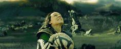Loki kills the dark elf and then throws him aside, the he turns his gaze to u, to make sure u are alright.