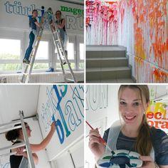 Kreativer Farben Workshop - Kreativfieber auf der Kreul Hausmesse 2015