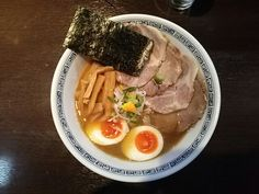 -Hayashi- This is a double soup with seafood and animal. It is a very mild taste. Roast pork ramen $ 10.00 http://alike.jp/restaurant/target_top/49318/