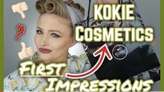 Kokie Cosmetics, Drugstore Foundation, Drugstore Makeup, Full Face, About Hair, Videos, Youtube, Youtubers, Youtube Movies