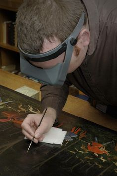 Painting Conservation at the Ashmolean Museum, Oxford (copyright Ashmolean Museum 2012)