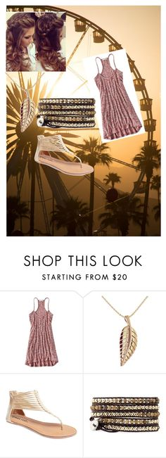 """Basic Casual Dress"" by jgirlsmith on Polyvore featuring American Eagle Outfitters, Jennifer Meyer Jewelry, Wet Seal and Retrò"