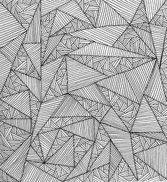 Patternatic, justemilykate: Geometric pattern, Sketchbook....