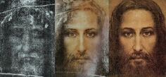 Shroud of Turin facial reconstruction.