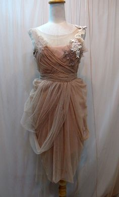 Elegant Criss Cross Short Dress by Madabby on Etsy