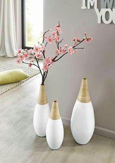 andas Vase »White Bamboo«, in 3 Größen  Vase  andas Vase »White Bamboo«