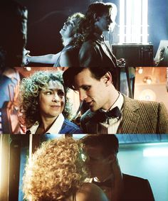 Eleven and River Song the most incredible couple in all history of the galaxy (aside from 10 and rose)