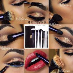 Motives® 8-Piece Deluxe Brush Set   Motives Cosmetics