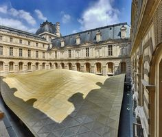 Department of islamic arts at the Louvre, first contemporary intervention since the giant pyramids.