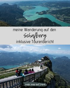 This hike up to the Schafberg lasts a total of 5 hours (without a break) and initially leads mainly through the shady forest and later over green meadows and pastures. Grandiose views are guaranteed! Day Trip, Vacation Trips, East Coast, Wanderlust, Travel Inspiration, Beautiful Places, Hiking, Explore, Adventure