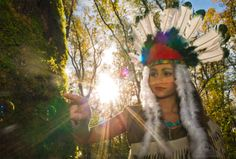Pocahontas - Chamelle Photography