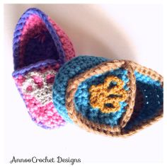 Royal Baby Loafers Free Tutorial By AnnooCrochet Designs