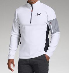 Mens UA TundraBloc ¼ Zip | Raddest Men's Fashion Looks On The Internet: http://www.raddestlooks.org