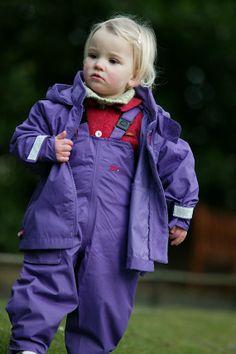 Togz clothing purple jacket and dungarees