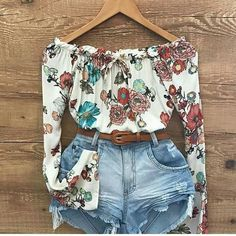 Casual Skirt Outfits, Cute Summer Outfits, Chic Outfits, Fashion Outfits, Womens Fashion, Cute Cowgirl Outfits, Rodeo Outfits, Southern Outfits, Ideias Fashion